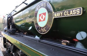 094 - 2014 - Watercress Line - Spring Steam Gala - Alresford - Merchant Navy Class - 35028 Clan Line