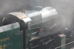 2014 - Watercress Line - Spring Steam Gala - Ropley - 850 Lord Nelson