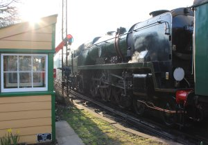 2014 - Watercress Line - Spring Steam Gala - Ropley - rebuilt West Country class - 34046 Braunton