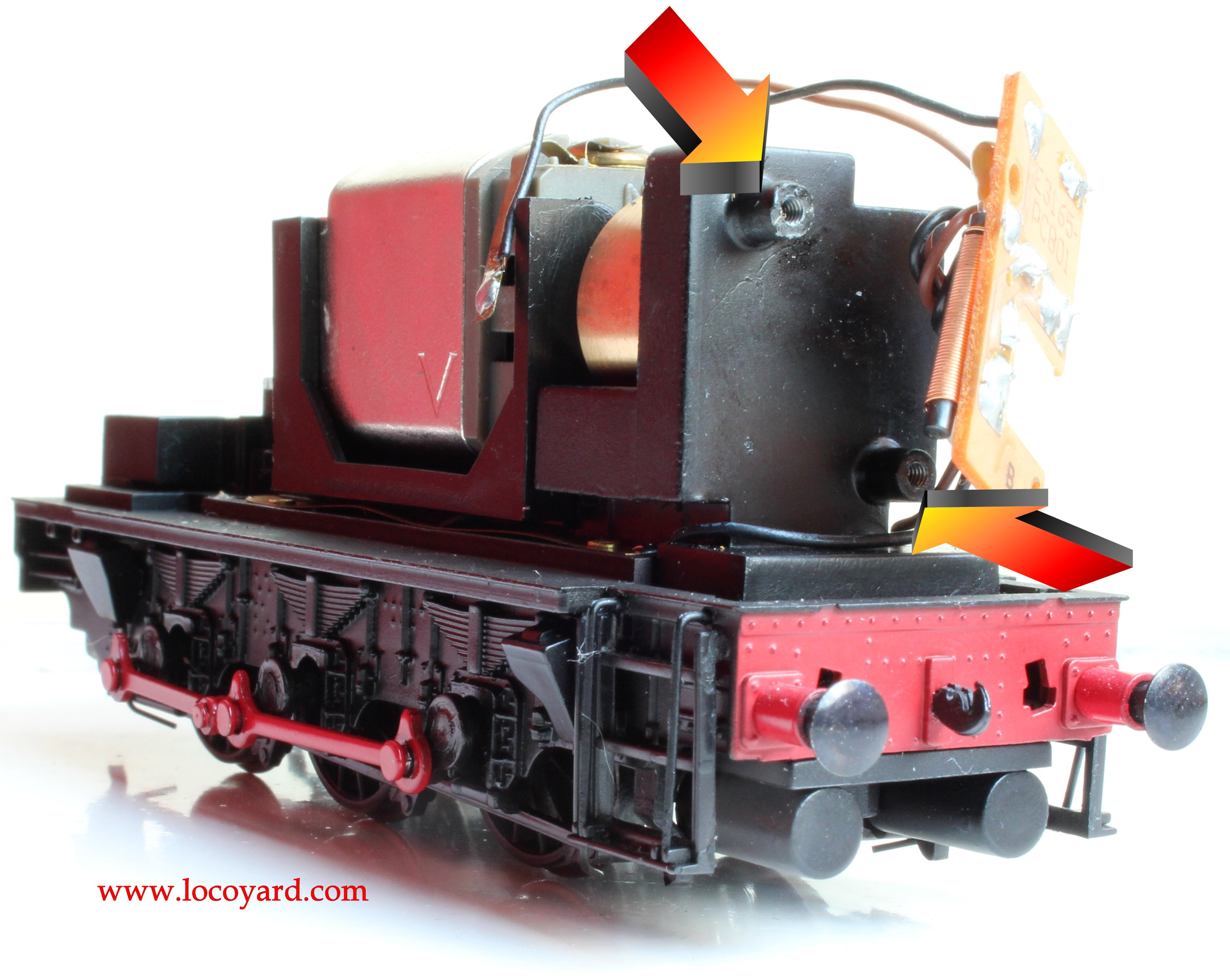 bachmann br class diesel shunter dcc fitting guide non dcc bachmann br class 08 diesel shunter 13029 hard wiring dcc fitting guide