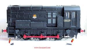 Locoyard - Bachmann BR class 08 diesel shunter 13029 - Hard-wiring DCC Fitting Guide (screws)