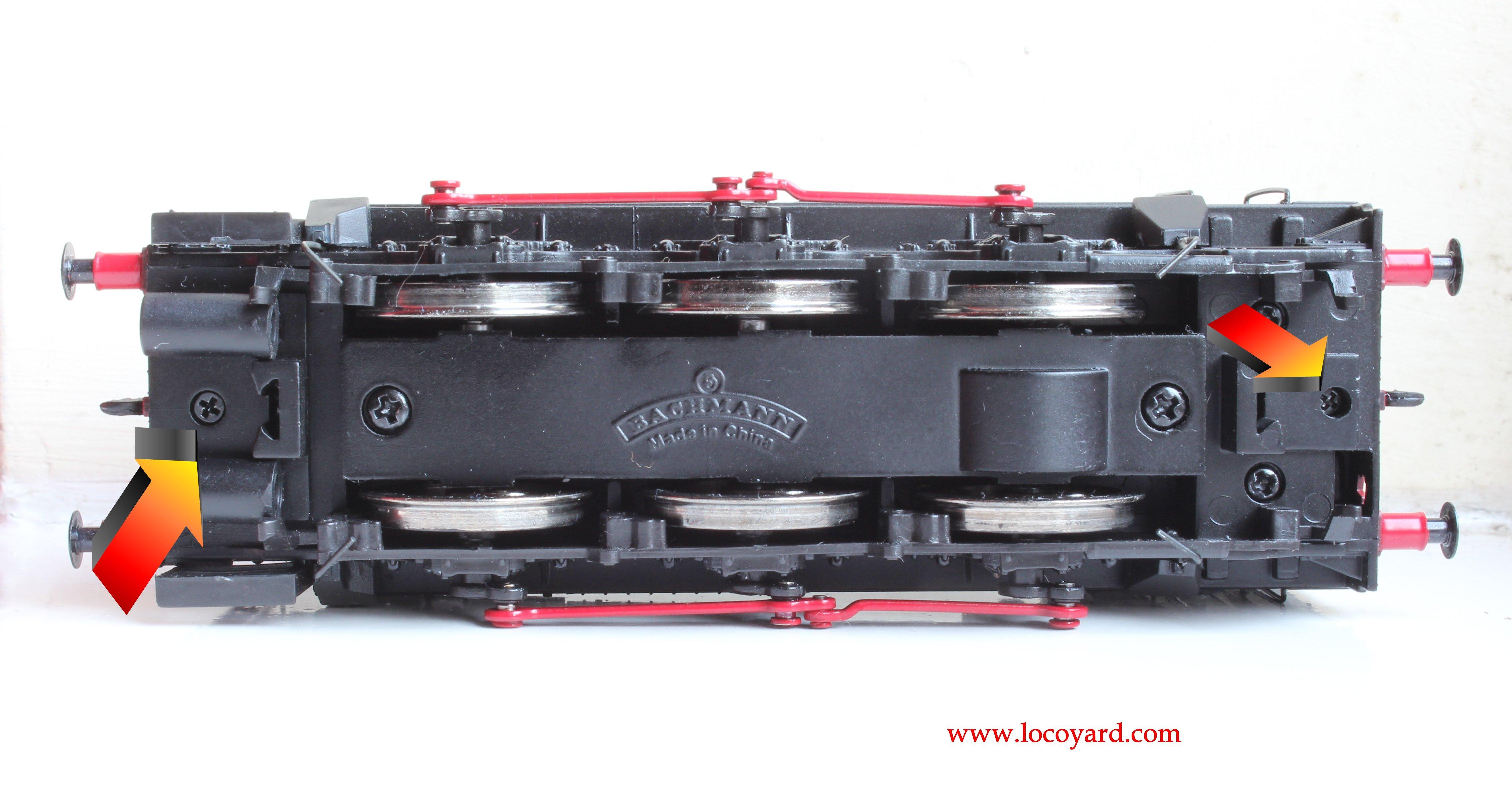 Bachmann Br Class 08 Diesel Shunter Dcc Fitting Guide Non Ready Train Engine Diagram Locoyard 13029 Hard Wiring