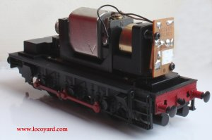 Locoyard - Bachmann BR class 08 diesel shunter 13029 - non DCC chassis