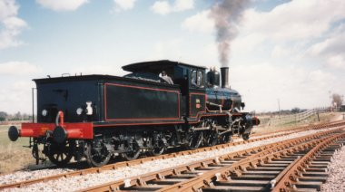 Locoyard - Norwegian class 21c - 376 (1995 - Kent & East Sussex Railway Northiam) 02