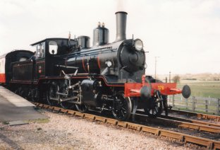 Locoyard - Norwegian class 21c - 376 (1995 - Kent & East Sussex Railway Northiam) 04