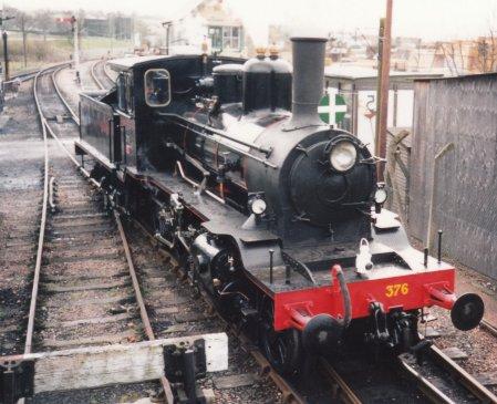 Locoyard - Norwegian class 21c - 376 (1995 - Kent & East Sussex Railway Rolvenden)