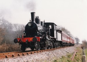 Locoyard - Norwegian class 21c - 376 (1996 - Kent & East Sussex Railway)