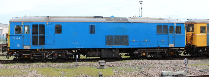 Eastleigh - April 2014 - Class 73 73109 (GB Railfreight)