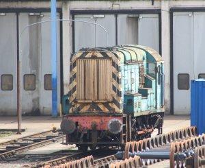 Eastleigh - April 2014 - Class 08 - 08947 Howie Margaret