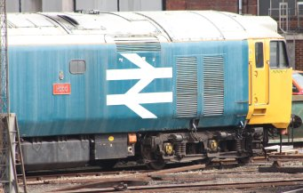 Eastleigh - April 2014 - Class 50 - 50011 Hood
