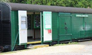 2014 - Swanage Railway - Corfe Castle - Exhibition Coach