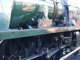 2014 - Watercress Railway - Ropley - Rebuilt West Country class - 34046 Braunton