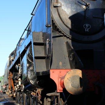 2014 - Watercress Railway - Ropley - BR Standard 9F 2-10-0 class 92212