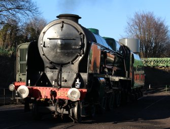 2014 - Watercress Railway - Ropley - Southern Railway 850 Lord Nelson
