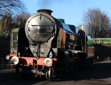 2014 - Watercress Railway - Ropley - Southern Railway 850 Lord Nelson