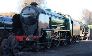 2014 - Watercress Railway - Ropley - Southern Railway Schools class - 925 Cheltenham & 850 Lord Nelson