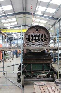 2014 - Watercress Line - Spring Steam Gala - Ropley boiler shop
