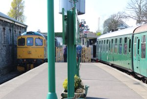2014 - Swanage Railway - Swanage - Class 33 - 33202 Dennis G Robinson & Ex-LSWR M7 class - BR 30053