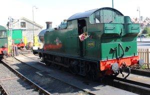 2014 - Swanage Railway - Swanage - Ex-GWR 56xx 6695