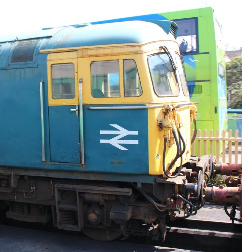 2014 - Swanage Railway - Swanage - Class 33 - 33111