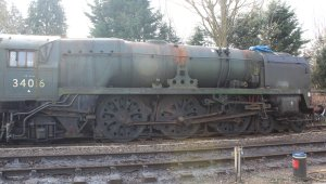 2014 - Watercress Line - Spring Steam Gala - Alresford - rebuilt West Country class - 34016 Bodmin