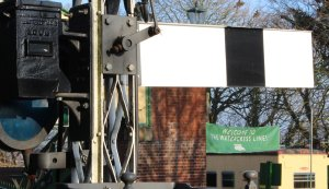 2014 - Watercress Line - Spring Steam Gala - Ropley - welcome banner