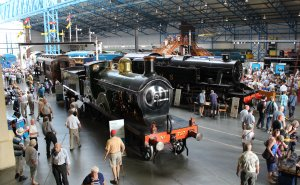 2013 National Railway Museum York - The Great Gathering - The Great Hall - SECR D Class 4-4-0 737