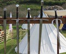 Corfe Castle - National Trust (swords)