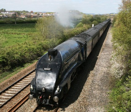 Shirl Turner - 60007 Sir Nigel Gresley - Exminster
