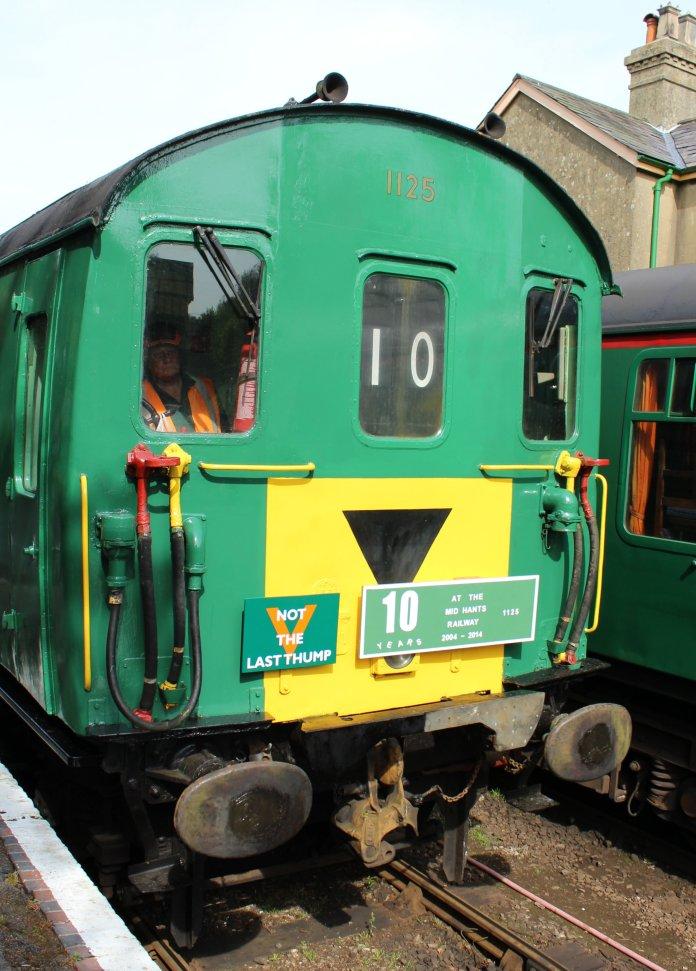 2014 - Watercress Railway - Alresford - Class 205 DEMU Hampshire Unit Thumper 1125 Not the Last Thump