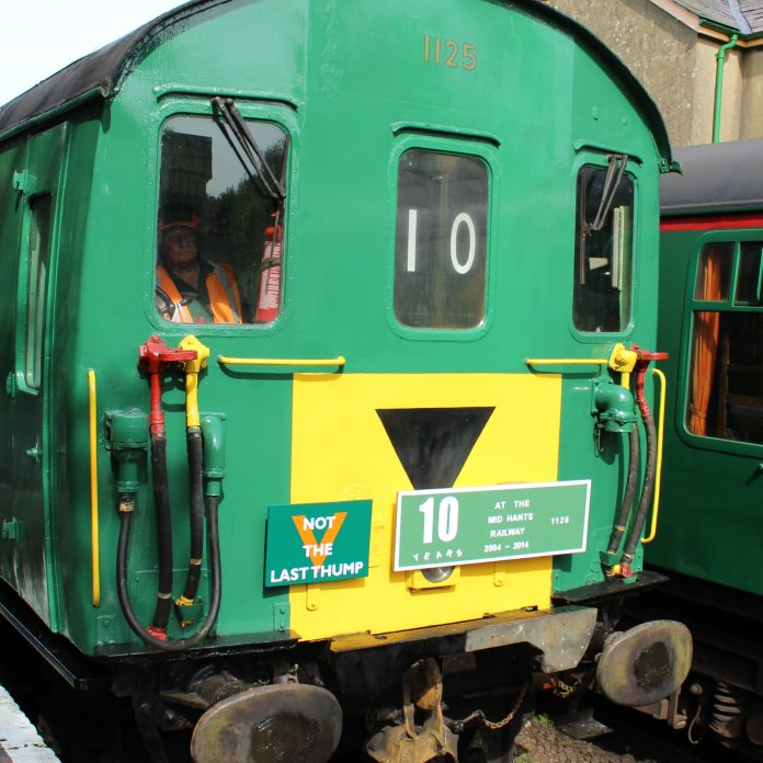 2014 - Watercress Railway - Alresford - Class 205 DEMU Hampshire Unit Thumper 1125 Not the Last Thump