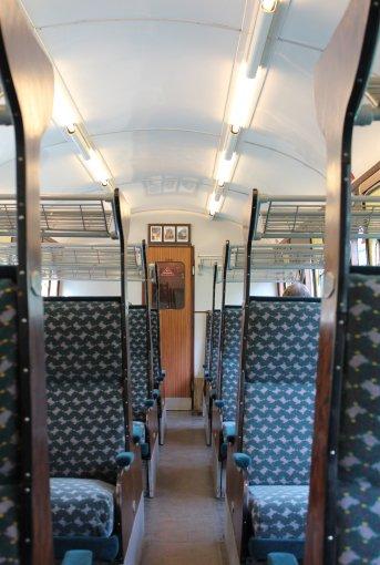 2014 - Watercress Railway - Interior - Class 205 DEMU Hampshire Unit Thumper 1125 Not the Last Thump