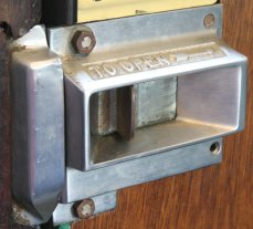 2014 - Watercress Railway - Door Latch - Class 205 DEMU Hampshire Unit Thumper 1125 Not the Last Thump