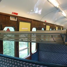 2014 - Watercress Railway - Interior - Class 205 DEMU Hampshire Unit Thumper 1125 Not the Last Thump