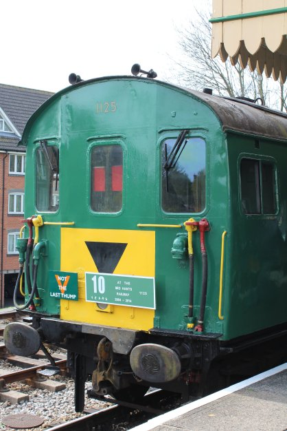 2014 - Watercress Railway - Alton - Class 205 DEMU Hampshire Unit Thumper 1125 Not the Last Thump