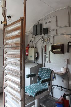 2014 - Watercress Railway - Alton - Class 205 DEMU Hampshire Unit Thumper 1125 Not the Last Thump Guard compartment