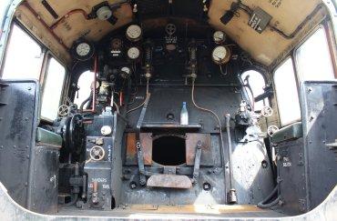 2014 - Watercress Railway - Ropley - BR Standard 7MT class 70000 Britannia (cab)