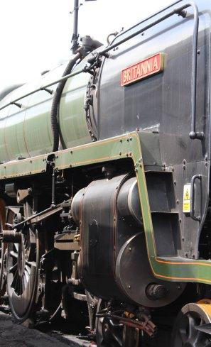 2014 - Watercress Railway - Ropley - BR Standard 7MT class 70000 Britannia