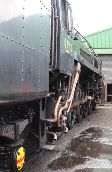 2014 - Watercress Railway - Ropley - BR Standard 9F 2-10-0 92212