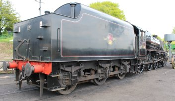 2014 - Watercress Railway - Ropley - Ex-LMS Black 5 45379 tender