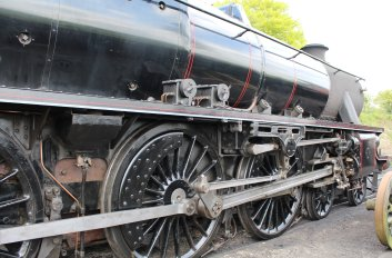 2014 - Watercress Railway - Ropley - Ex-LMS Black 5 45379