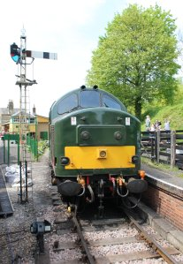 2014 - Watercress Railway - Alresford - Class 37 D6836 37905