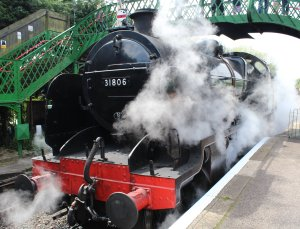 2014 - Watercress Railway - Alresford - Ex Southern Railway U class 31806