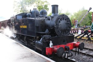 2014 Kent and East Sussex Railway 40th Anniversary Gala Tenterden Town USA Class Southern Dock-Tank 65