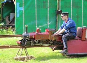Bankside Miniature Railway - Brambridge Garden Centre 2014 - Carolyn