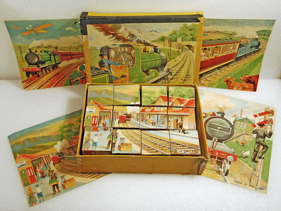Train toy from the 1940's