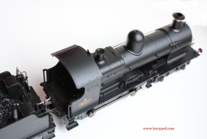 Locoyard Bachmann GWR BR WR 32xx Earl Dukedog Class Review (from above)
