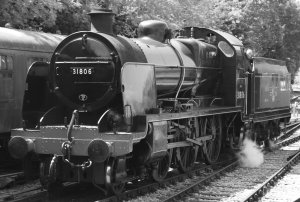 Watercress Festival 2014 Alresford (10) BR ex - Southern Railway U class 31806