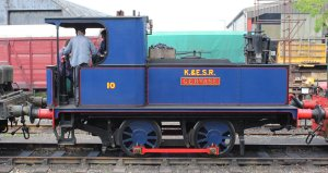 2014 Kent and East Sussex Railway 40th Anniversary Gala Tenterden Town Sentinal 0-4-0 10 Gervase