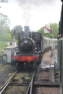2014 Kent and East Sussex Railway 40th Anniversary Gala Rolvenden class 21C 376 Norwegian